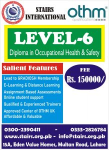 Level 6 Diploma in Safety